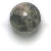 Semi-Precious 8mm Round Black/White Onyx